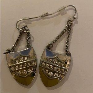 Harley-Davidson shield earrings